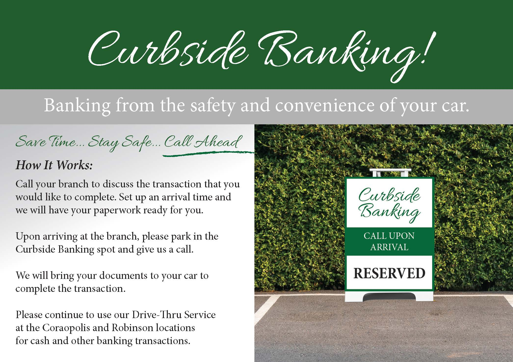 Curbside banking 2020